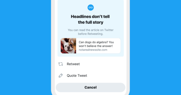 Twitter read article prompt